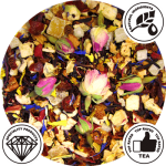 rose garden fruit tea